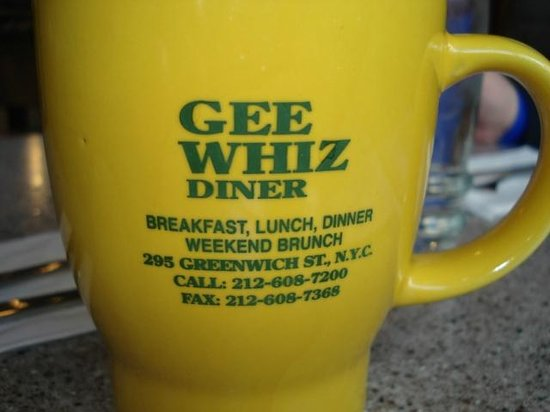 Gee Whiz Restaurant: Souvenir Mugs