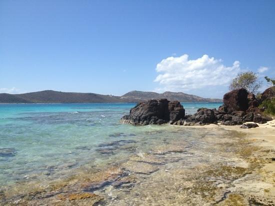 Culebrita Island: playa