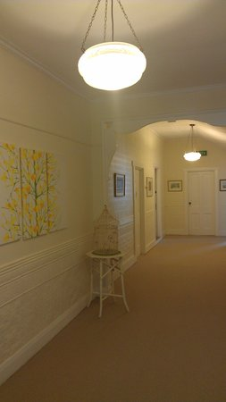 Mole Creek Guesthouse: The impressive  hallway