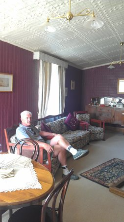 Mole Creek Guesthouse: Guests sitting room