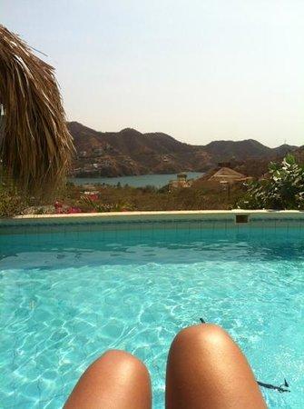 Casa Los Cerros:                   piscina