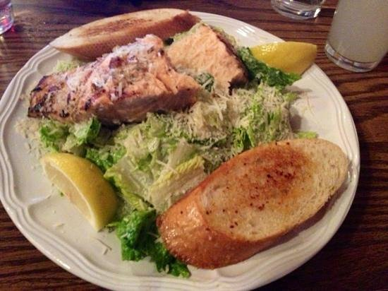 Toby's: salmon and salad