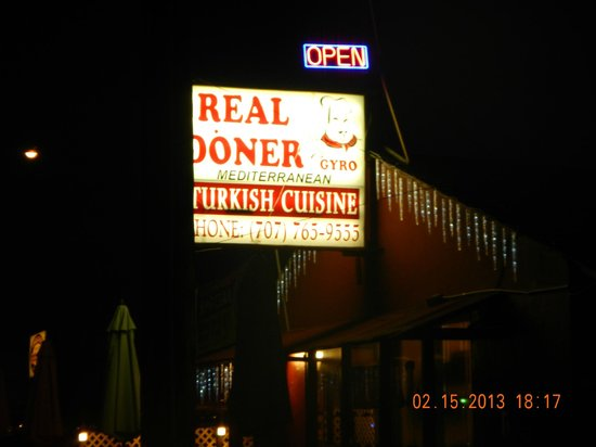 Real Doner: Exterior Sign