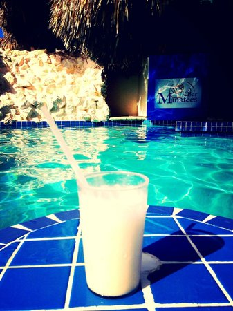 Sunscape Curacao Resort Spa & Casino:                   Virgin Pina Colada at the poolbar