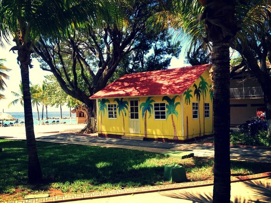 Sunscape Curacao Resort Spa & Casino:                   Just love this little beach house.