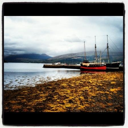Inverary Maritime Centre:                   Arctic Penguin and Vital Spark