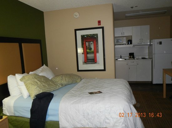 Extended Stay America - Bakersfield - Chester Lane: great bed