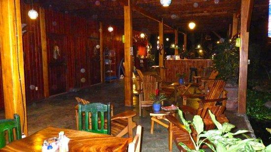 Hotel Banana Azul:                   Dining area