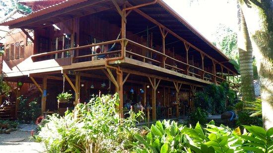 Hotel Banana Azul:                   Main building