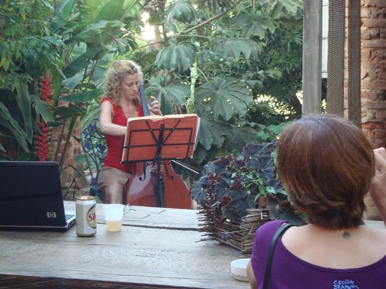 Canto da Carambola: Music in the backyard