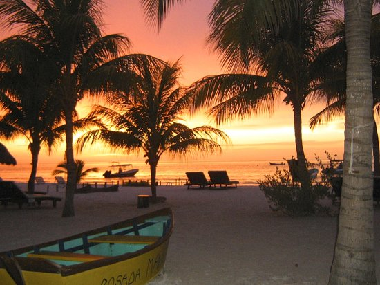 Holbox Hotel Mawimbi: THE SUNSET FROM MAWIMBI