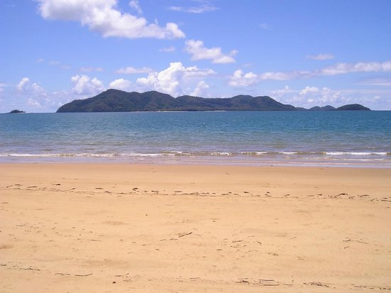 Apollo Jewel Beachfront Apartments: Dunk Island straight offshore