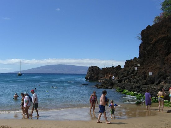 Aston at The Whaler on Kaanapali Beach:                   Black Rock near The Whaler - good snorkeling