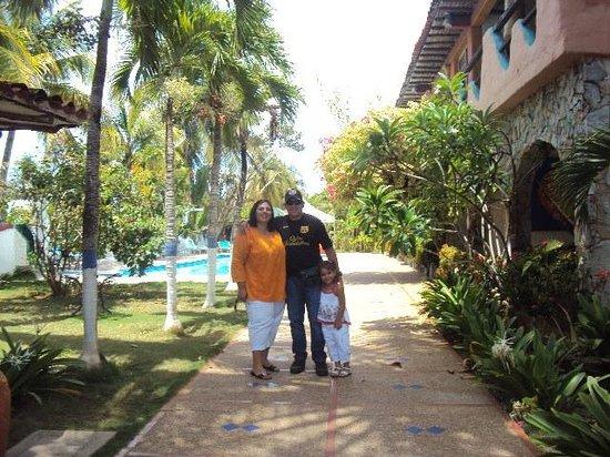 Hotel Coco Paraiso:                                     Area de recreación
