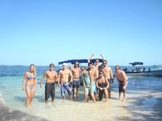 Hostal Mar e Iguana :                   Tour a Bay Dolphin, Cayo Zapatillas
