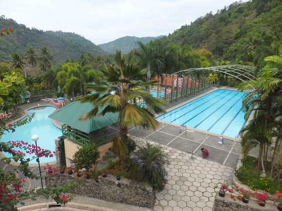 Palm Grove Hot Springs and Mountain Resort:                                                                         Overall view of pools