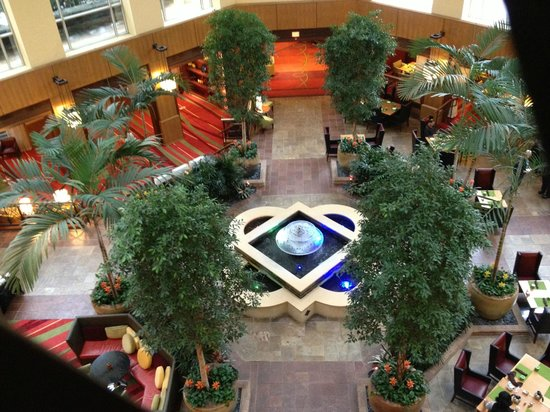 Renaissance Charlotte SouthPark Hotel:                   Atrium