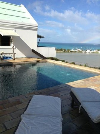 Ambia Boutique Hotel:                   View from the pool
