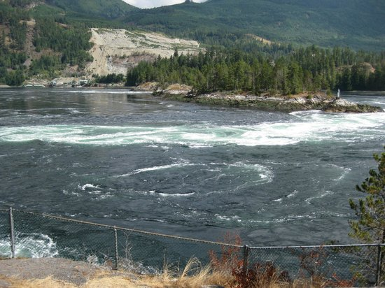 Skookumchuck Narrows Provincial Park: The rapids.