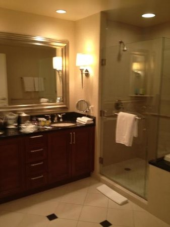 Signature at MGM Grand: great bathroom