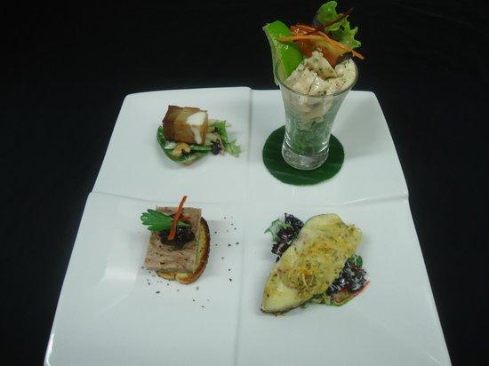 Rapala Restaurant: Rapala entree tasting platter