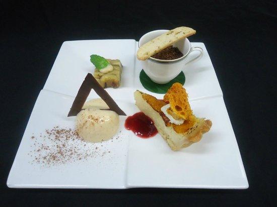 Rapala Restaurant: Rapala dessert tasting plate
