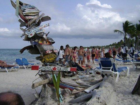 Natura Park Beach - EcoResort & Spa:                   The animation crew at work