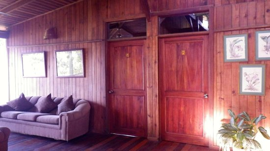 Turrialtico Lodge:                                     Upstairs rooms
