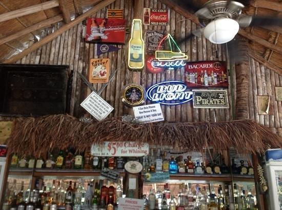 The Pirates Tavern:                   lush