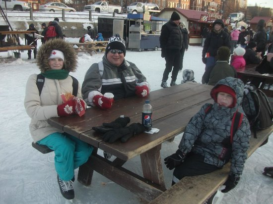 Rideau Canal:                   ...fabulous time...