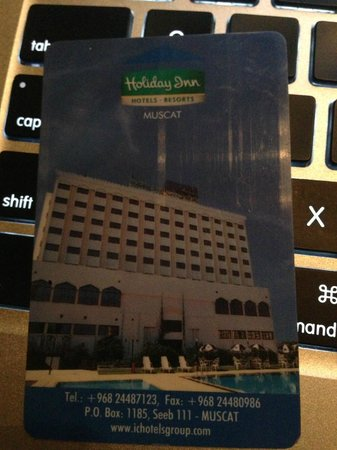 Hotel Al Madinah Holiday: room key