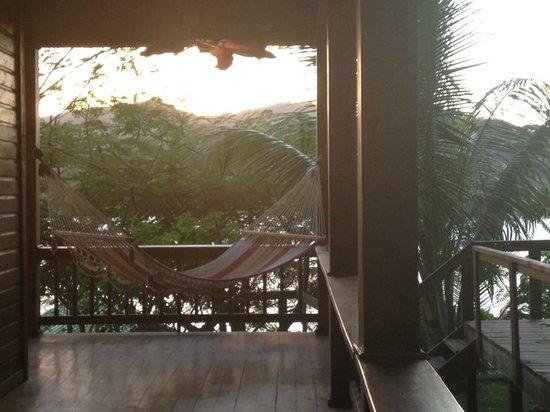 Seagrove Retreat :                   hammock on the wrap around porch...