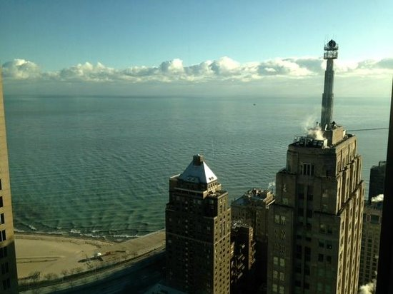 Four Seasons Hotel Chicago:                   Room with a View