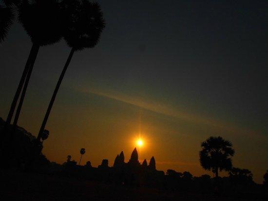 Im Malis Hotel:                   Angkor Wat