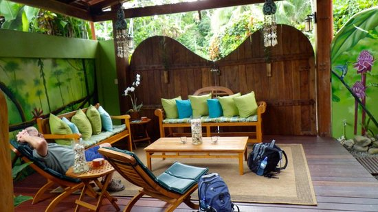 Physis Caribbean Bed & Breakfast:                   One of the nice sitting areas