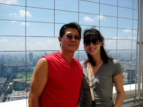 Baiyoke Sky Hotel: Rotating deck on the top of the hotel