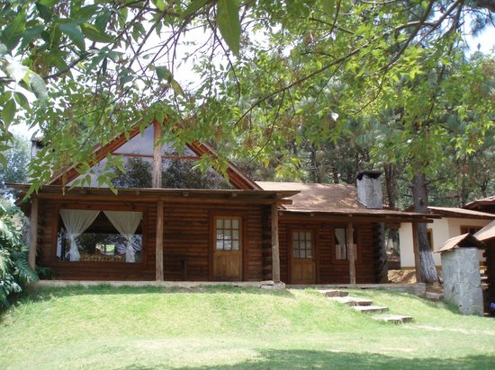 Hotel Sierra Paraiso : Cabaña de madera