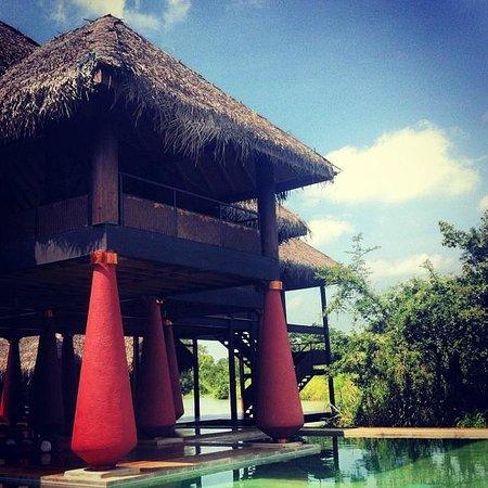 Jetwing Vil Uyana:                                     Dining pavillion