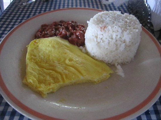 Dano Restaurant :                                     Our Filipino Beakfast was sufficient and tsty - Corned beef,