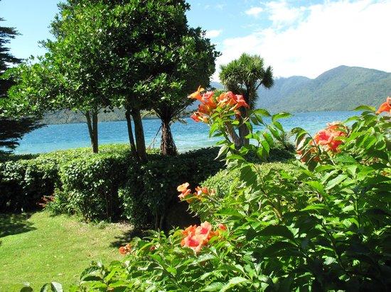 View from Mahana Lodge