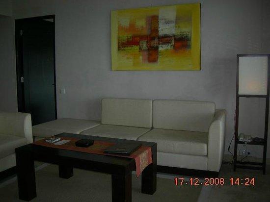 Park Hotel Nusa Dua:                   Living area