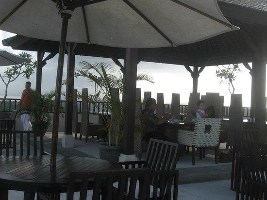 Park Hotel Nusa Dua:                   Rooftop restaurant