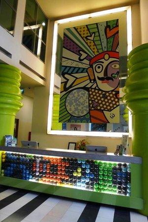 MaxOneHotels at Sabang:                   Lobby