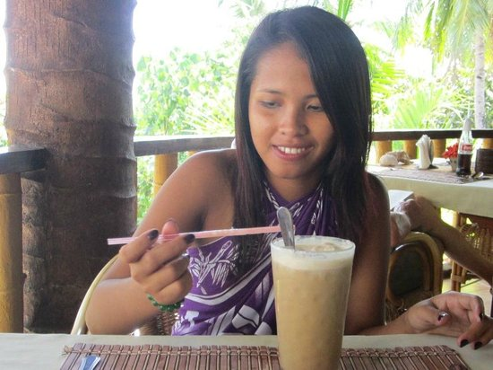 Magellan's :                   eh cold coffee was yummy