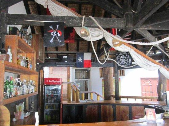 Magellan's :                   The bar is just next to the beach walk