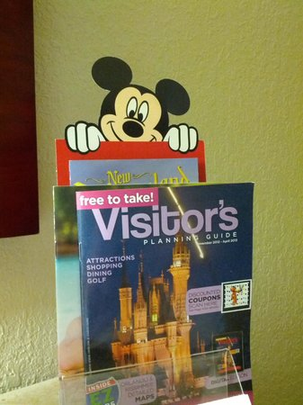 Radisson Hotel Orlando - Lake Buena Vista:                   Good tourist information, plus don't miss the Mouse!