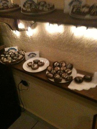 Chocolateria Isla Bella:                                     On display