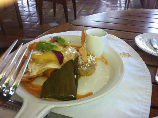 Casa Velas:                   breakfast