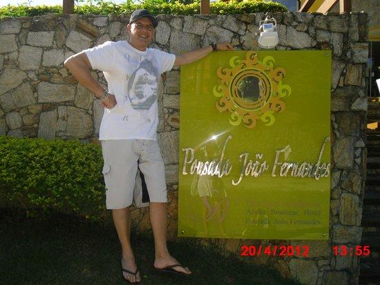 Pousada Joao Fernandes : en la entrada