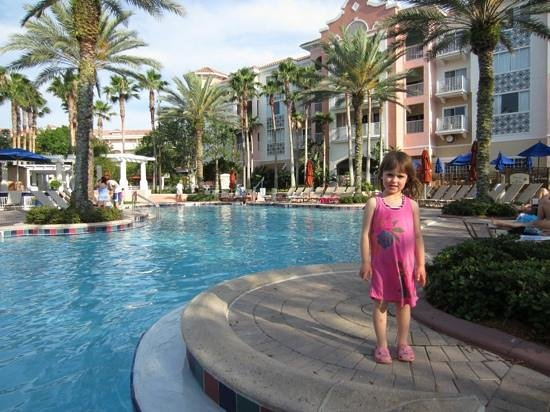 Marriott's Grande Vista:                   by the pool